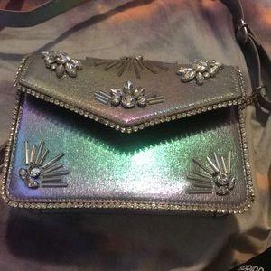 Top shop skinny dip iridescent bag